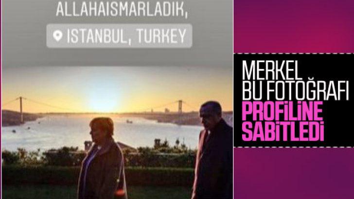 Merkel'den Türkçe mesaj