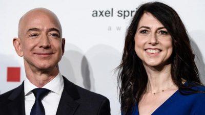 Jeff Bezos's Wealth Soars to $171.6 Billion to Top Pre-Divorce Record